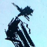<p>dibujo de Picasso en una servilleta de la imágen de mi padre cuando aparecía en el escenario. (olimpia de parís 1950)</p>